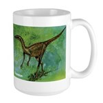 Troodon Dinosaur Large Mug