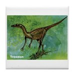 Troodon Dinosaur Tile Coaster