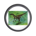 Troodon Dinosaur Wall Clock