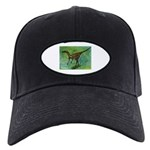 Troodon Dinosaur Black Cap