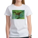 Troodon Dinosaur (Front) Women's T-Shirt