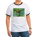 Troodon Dinosaur Ringer T