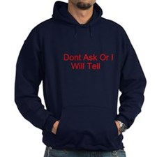 dont ask dont tell Hoodie