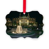 Cute France Picture Ornament