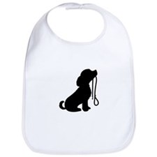 Dog and Leash Bib