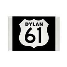 Unique Dylan Rectangle Magnet