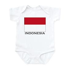 Flag of Indonesia Infant Bodysuit