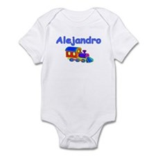 Train Engine Alejandro Infant Bodysuit