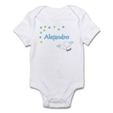 Star Pilot Alejandro Infant Bodysuit