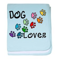Dog Lover baby blanket