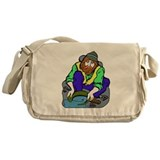 Miner Man Messenger Bag