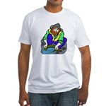 Miner Man Fitted T-Shirt