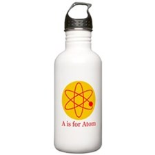 A is for Atom Water Bottle