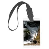 Fly Fishing Rod Large Luggage Tag