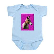 Pink mule head Infant Bodysuit