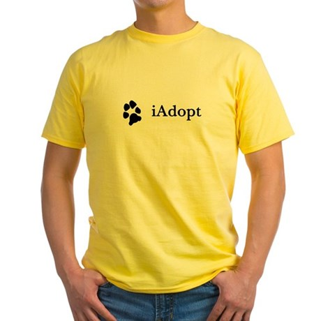 iAdopt Yellow T-Shirt