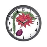 Vintage Cerus Print Wall Clock