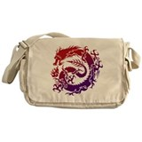 Cute Dragons Messenger Bag