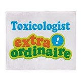 Toxicologist Extraordinaire Throw Blanket