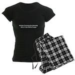 When Things Go Wrong Women's Dark Pajamas
