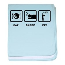RC Helicopter baby blanket