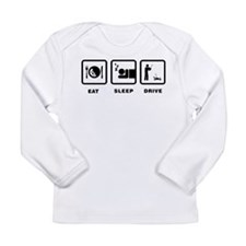 RC Car Long Sleeve Infant T-Shirt