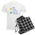 When Things Go Wrong V3 Men's Light Pajamas
