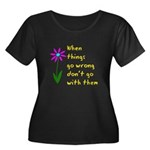 When Things Go Wrong V3 Women's Plus Size Scoop Ne