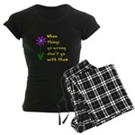 When Things Go Wrong V3 Women's Dark Pajamas