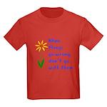 When Things Go Wrong V3 Kids Dark T-Shirt