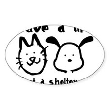 Save a Life - Adopt a Shelter Pet Decal