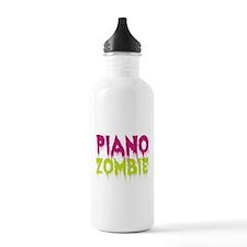 Piano Zombie Sports Water Bottle