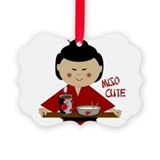 Cute Miso soup Ornament