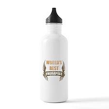 World's Best Therapist (Wings) Water Bottle