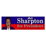 Sharpton Bumper Bumper Sticker