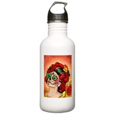 Muertos Amor Sports Water Bottle