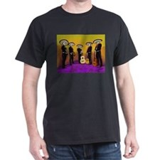 Mariachi Dia de los Muertos Band T-Shirt