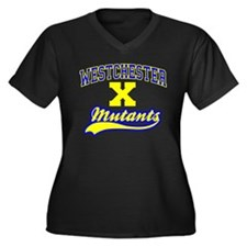 Westchester Mutants Women's Plus Size V-Neck Dark