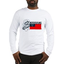 SAMOA REPRESENT! Long Sleeve T-Shirt