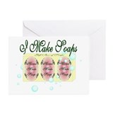 Soap Distributor Greeting Cards (Pk of 10)