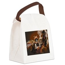 Aztec Dancer - Man Canvas Lunch Bag