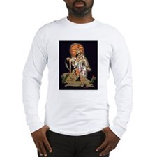 Aztec Warrior and Maiden Long Sleeve T-Shirt