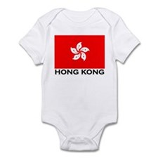 Hong Kong Flag Gear Onesie