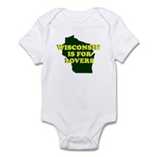 WISCONSIN IS FOR LOVERS SHIRT Infant Bodysuit
