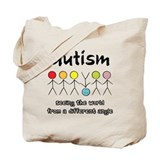 Unique Autism advocacy Tote Bag