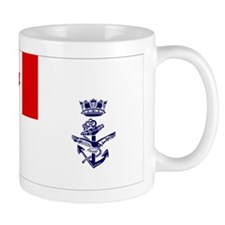 Naval Jack of Canada Small Mugs