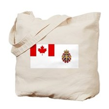 Canadian Forces Flag Tote Bag