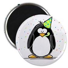 "Party Penguin 2.25"" Magnet (10 pack)"