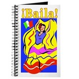 Colorful Mexican Dancer SPANISH Journal