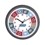 All Stars Sports Clock - JOSEF